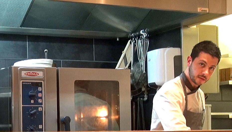 Matteo Bartoloni, pâtissier et second