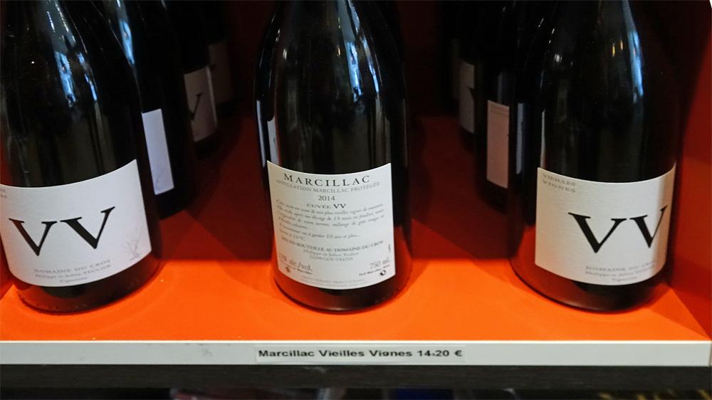 Le Marcillac 2014 Vieilles Vignes de chez Teulier