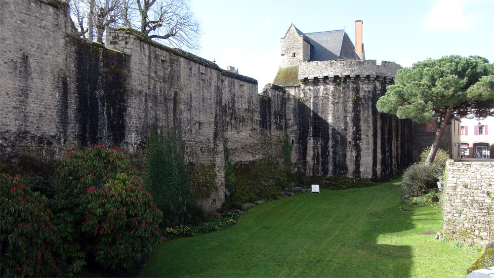 Les fossés du Château