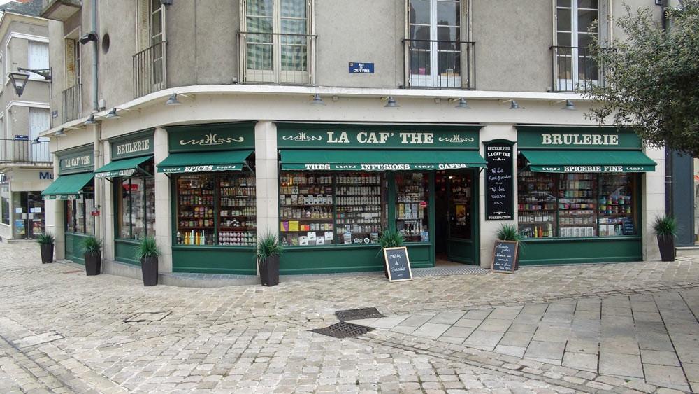 La façade principale (rue des Orfèvres)