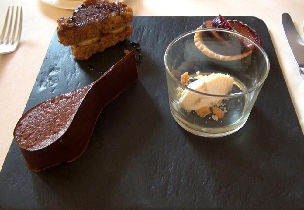 Les 4 desserts