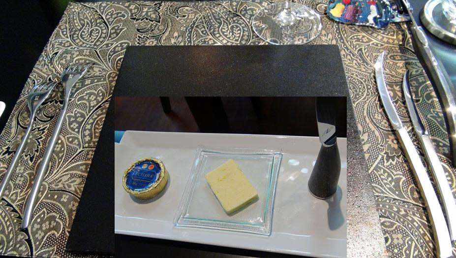 Beurres et son couteau spécial des Forges de Laguiole