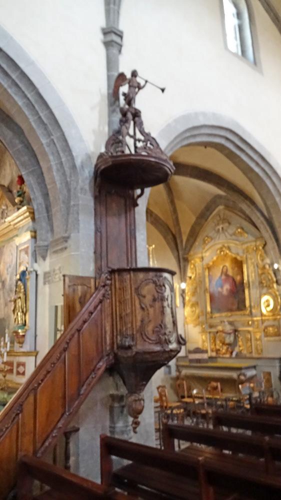 Eglise Saint-Mathieu - Chaire