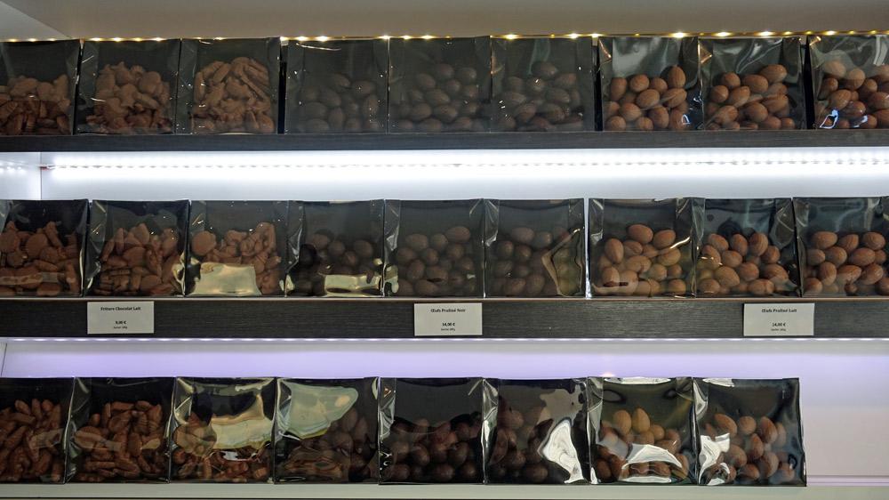 Sachets de petits œufs au chocolat