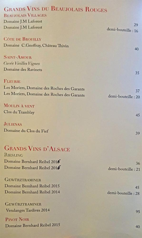 Grands vins rouge du Beaujolais et Alsace