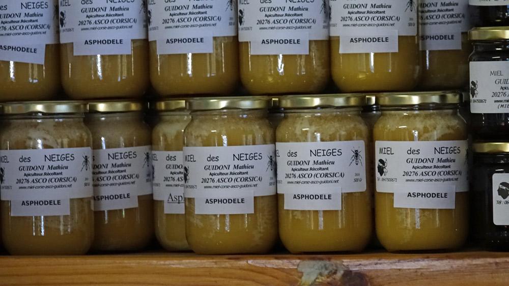 Le fameux miel d'asphodèle