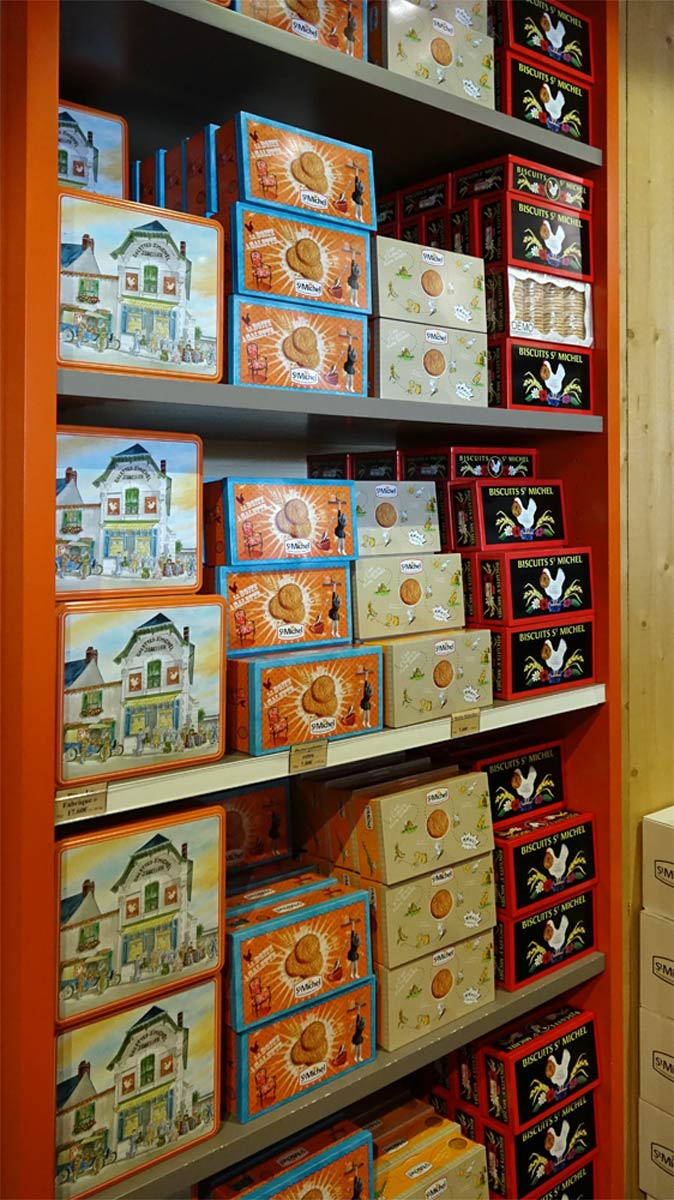 Boîtes de biscuits Saint-Michel