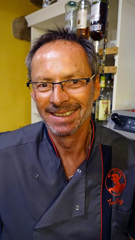 """Pascal Le Boulc'h, le crêpier et trésorier de l'association """"Crêperies gourmandes de Bretagne"""""""