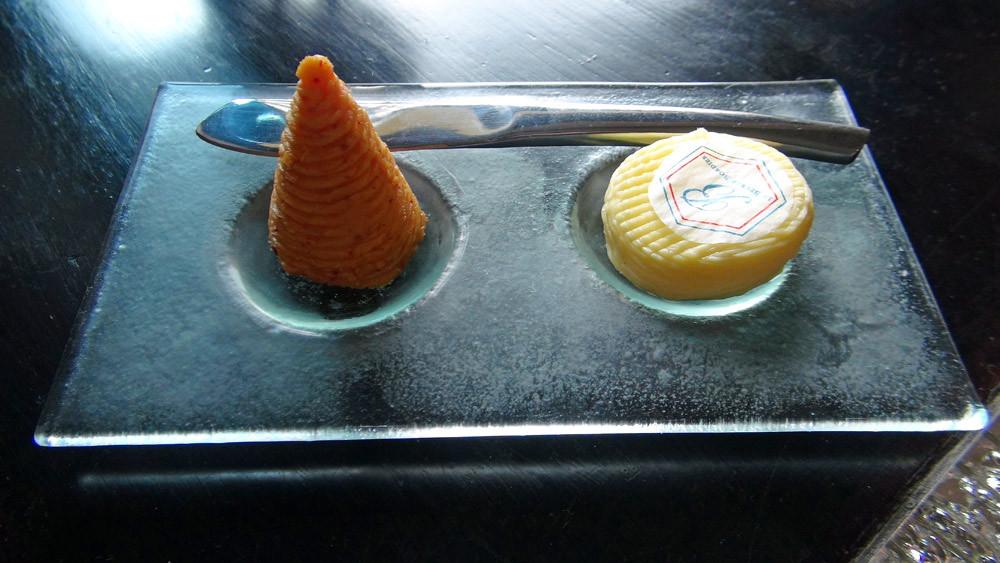 Beurre salé et au Piment d'Espelette de chez Bordier