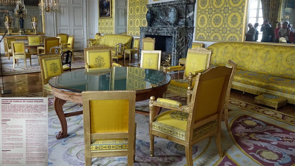 Le Grand Trianon : Chambre de la famille Louis-Philippe
