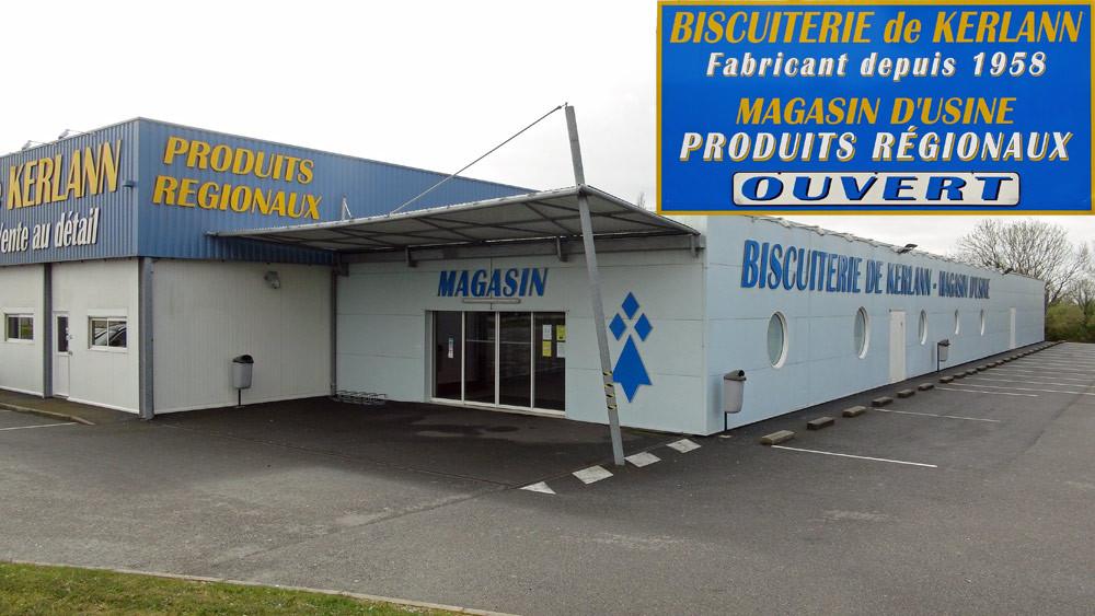 Le magasin d'usine