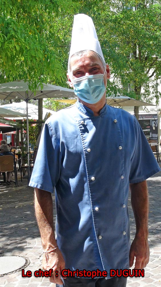 Le chef : Christophe Duguin