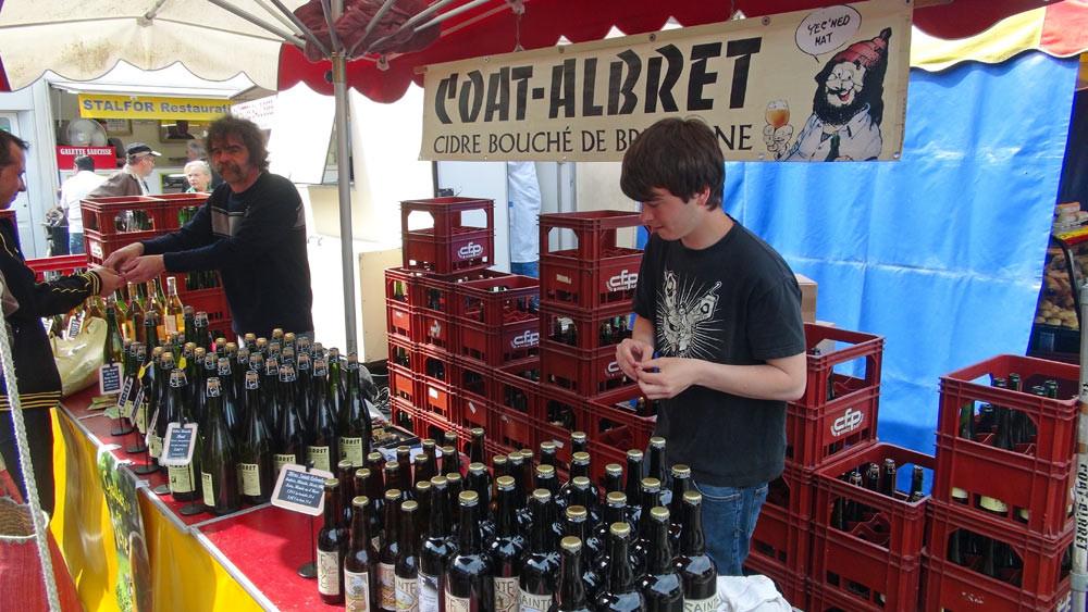 Le cidre de Loïc Berthelot et la bière de Sainte-Colombe