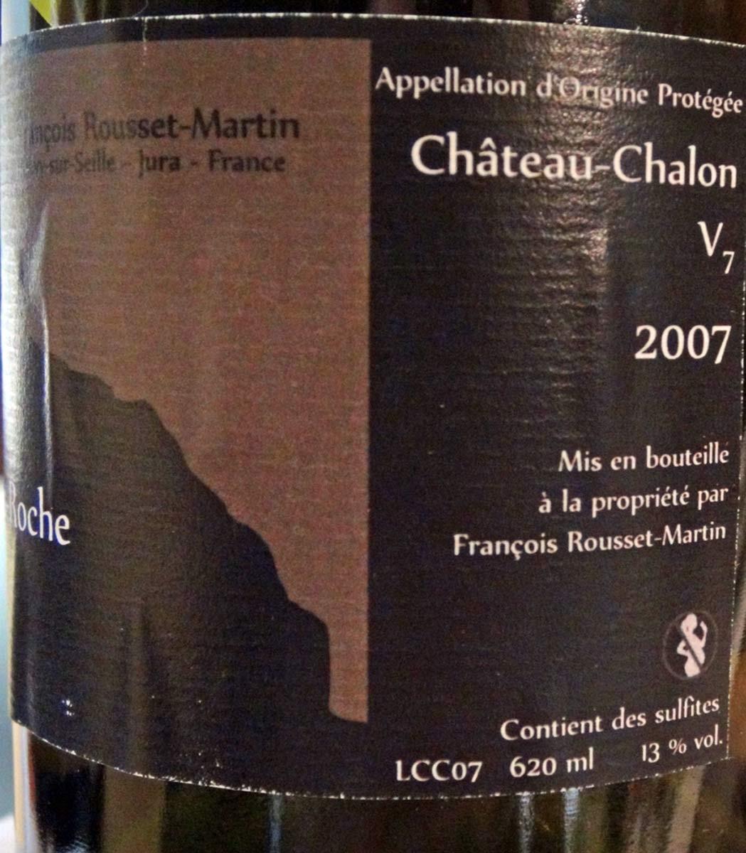 Château-Chalon 2007 de François Rousset-Martin