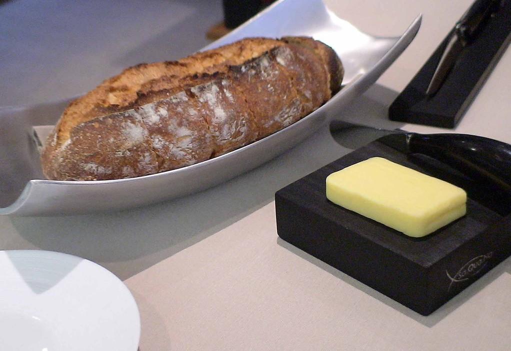 Le pain d'un boulanger d'Honfleur à découper soi-même