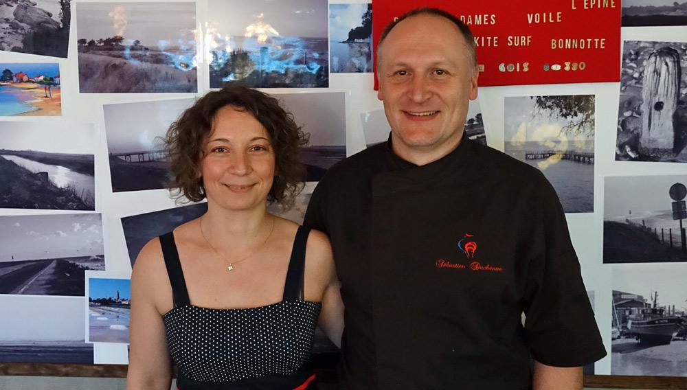 Aurore & Sébastien Duchenne,
