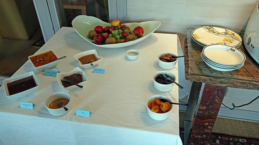 Les confitures du petit déjeuner