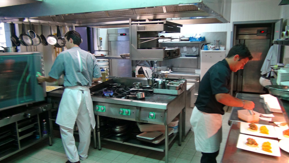 En cuisine avec Quentin Abadie