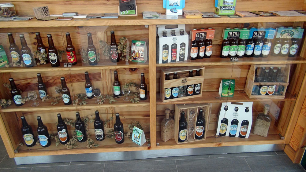 La gamme des bières