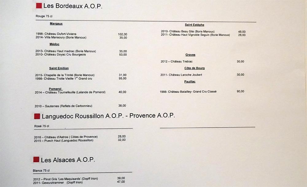 Vins de Bordeaux, du Languedoc-Roussillon et d'Alsace