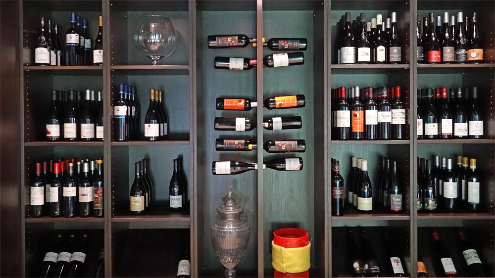 Les vins disponibles