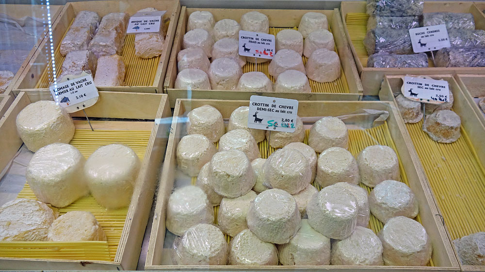 Fromages disponibles