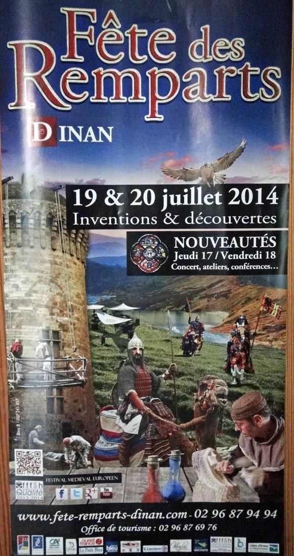 La Fête des Remparts de Dinan, célèbre et réputée fête médiévale