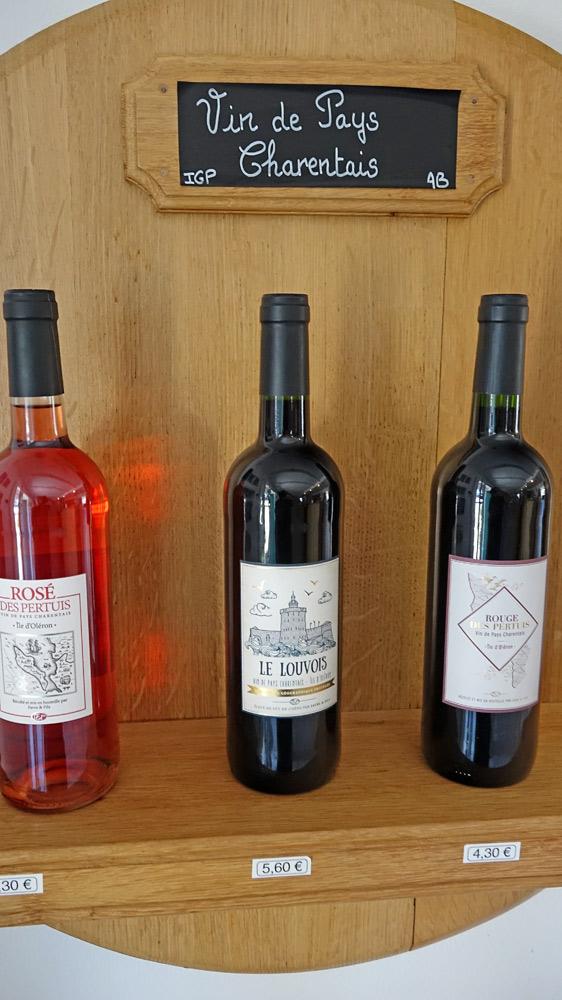 Les vins en vente