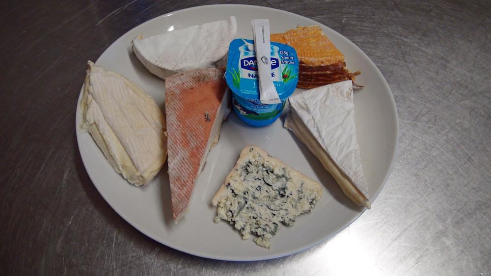 L''assiette de fromages