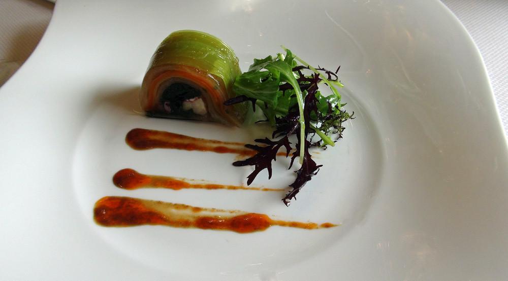 Pressé de homard & jeunes légumes