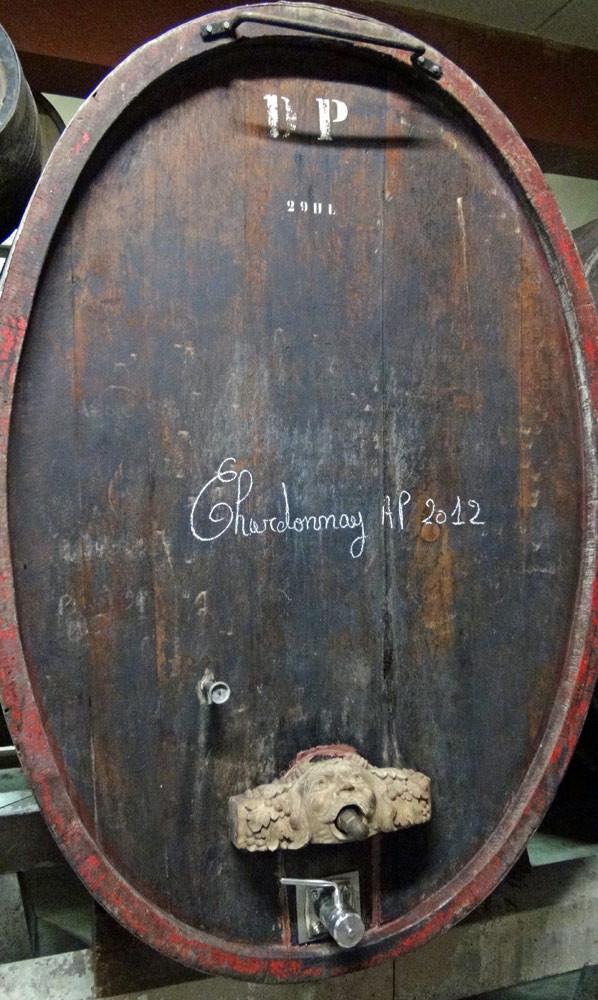 Foudre de Chardonnay 2012