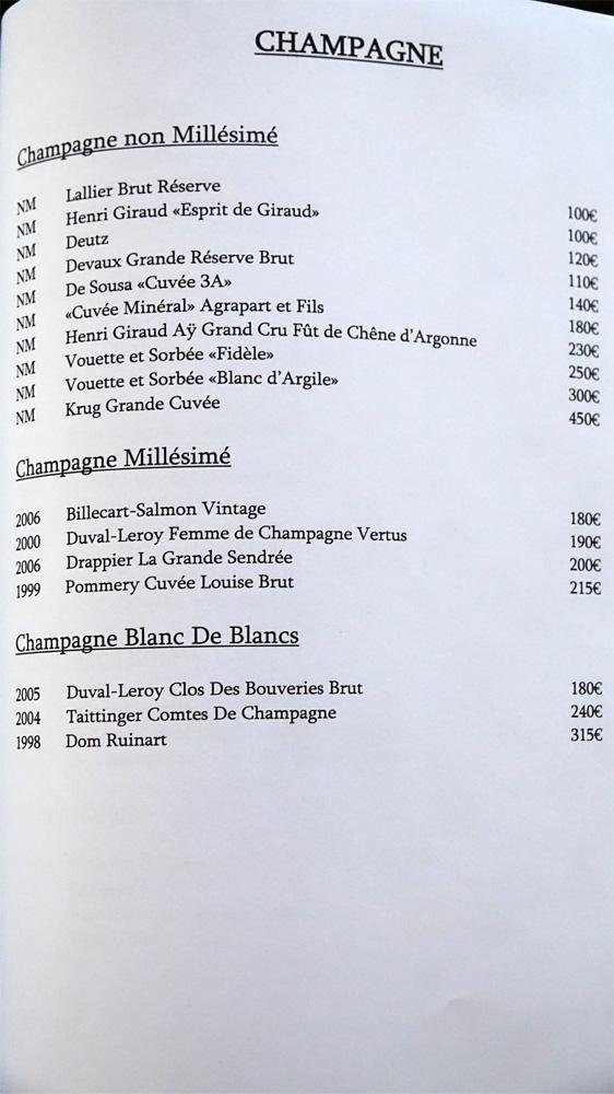 Champagne (17 références)