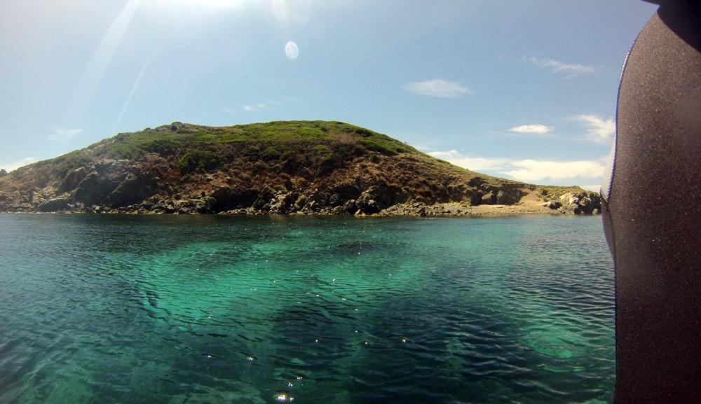 Le site des Îles sanguinaires