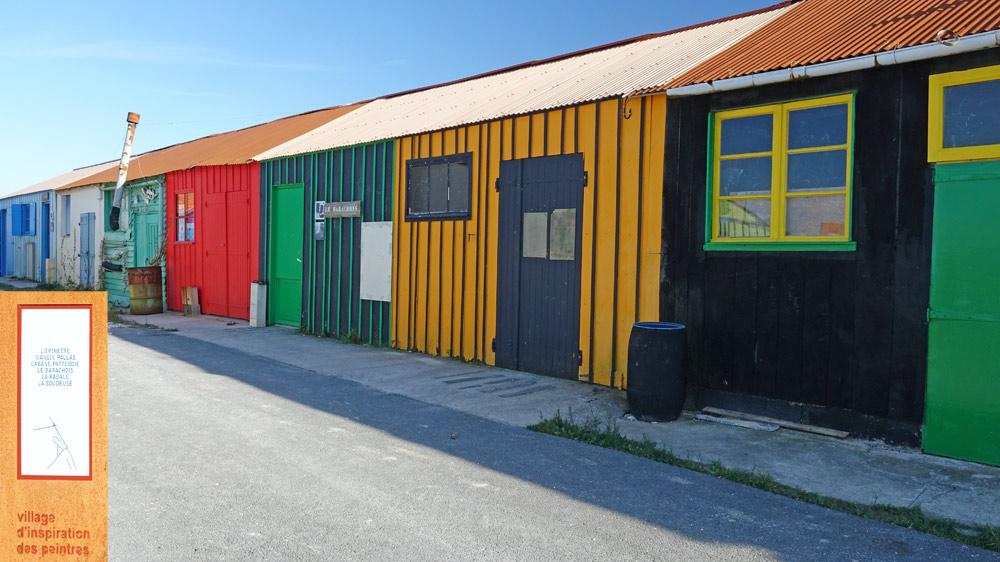 Saint-Trojan et son village d'inspiration des peintres