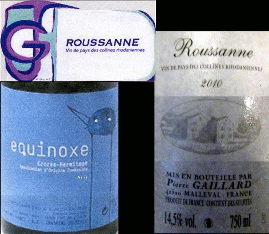 Les vins, suite