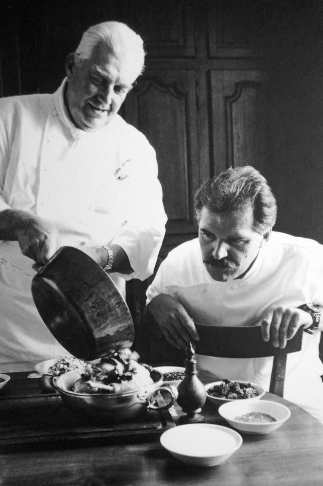 Jean-Paul Jeunet et son père, André Jeunet