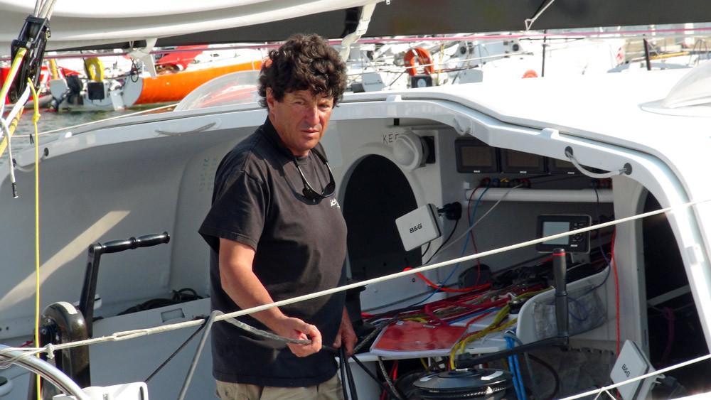 Jean Le Cam, héros malgré lui du Vendée Globe 2008/2009 et 5ème de l'édition 2012/2013