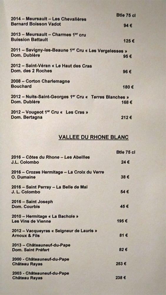 Vins blancs de Bourgogne et de la Vallée du Rhône