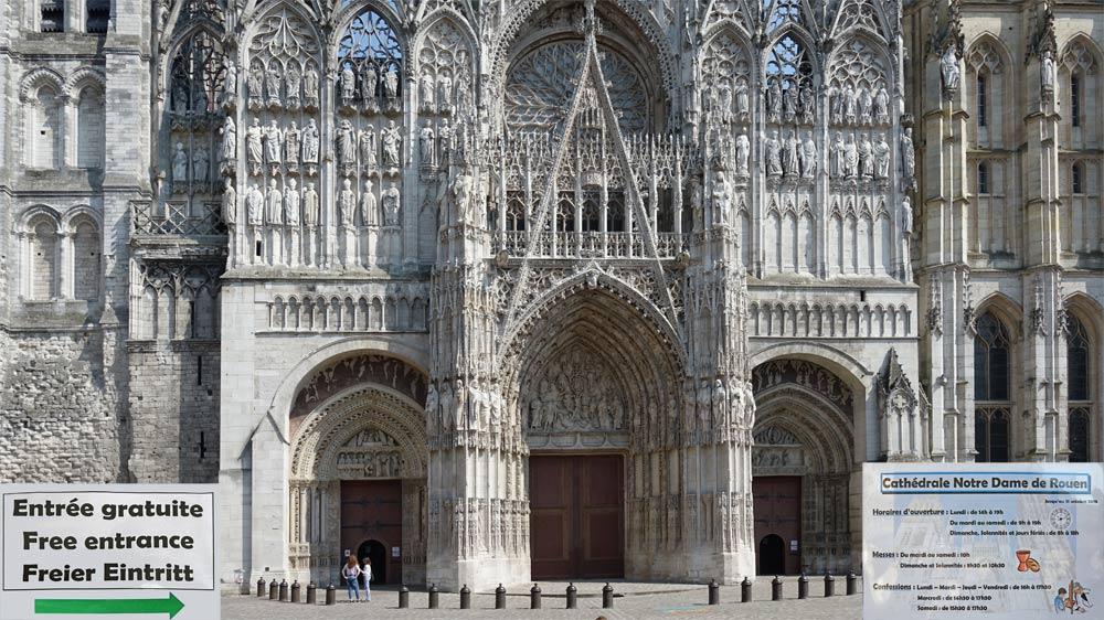 La Cathédrale, partie basse