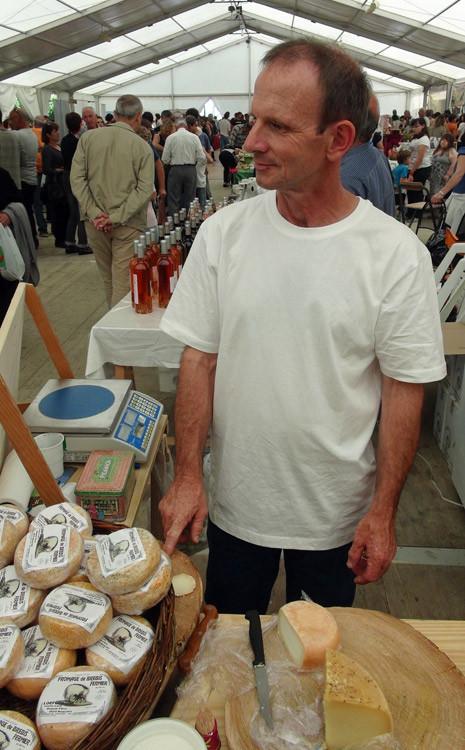 Harald Loefgen, producteur fermier de Venachese