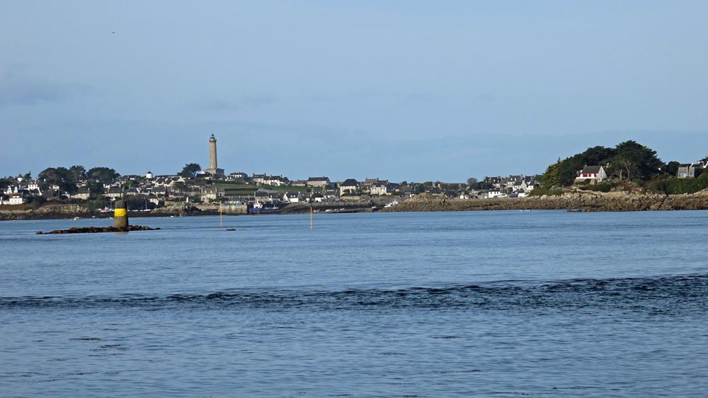 L'île de Batz vue de l'embarcadère