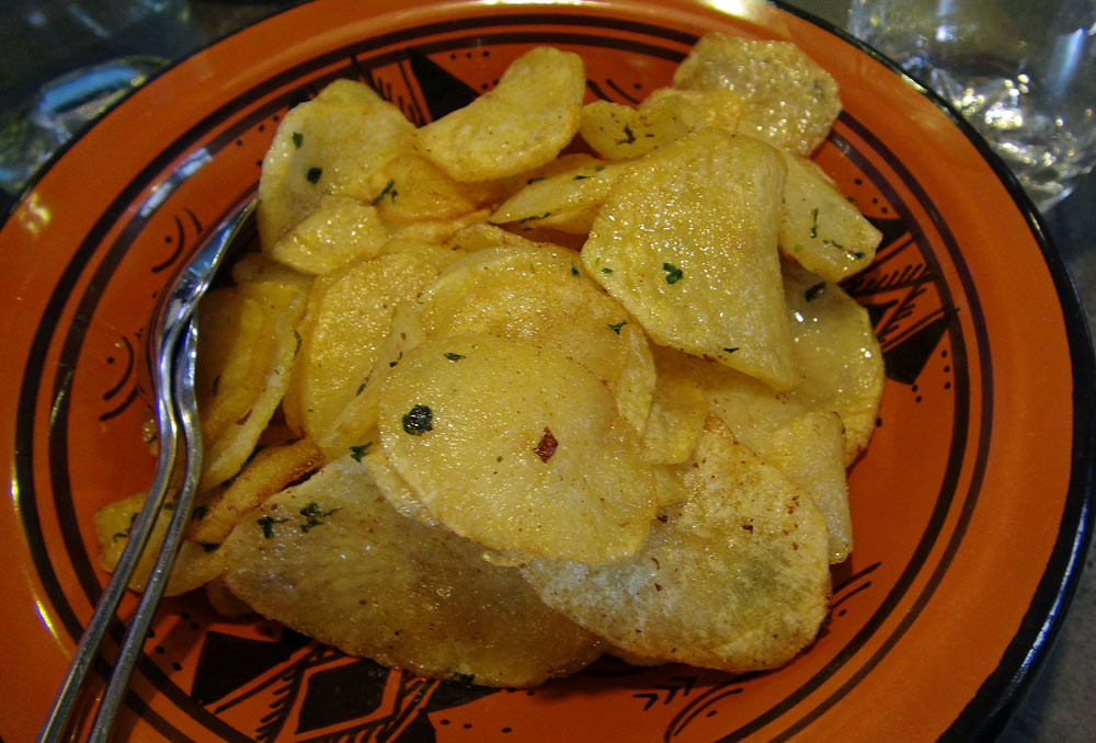 Les pommes de terre sautées