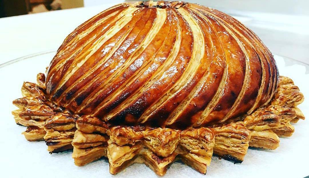 Pithiviers gibier et foie gras ... après cuisson