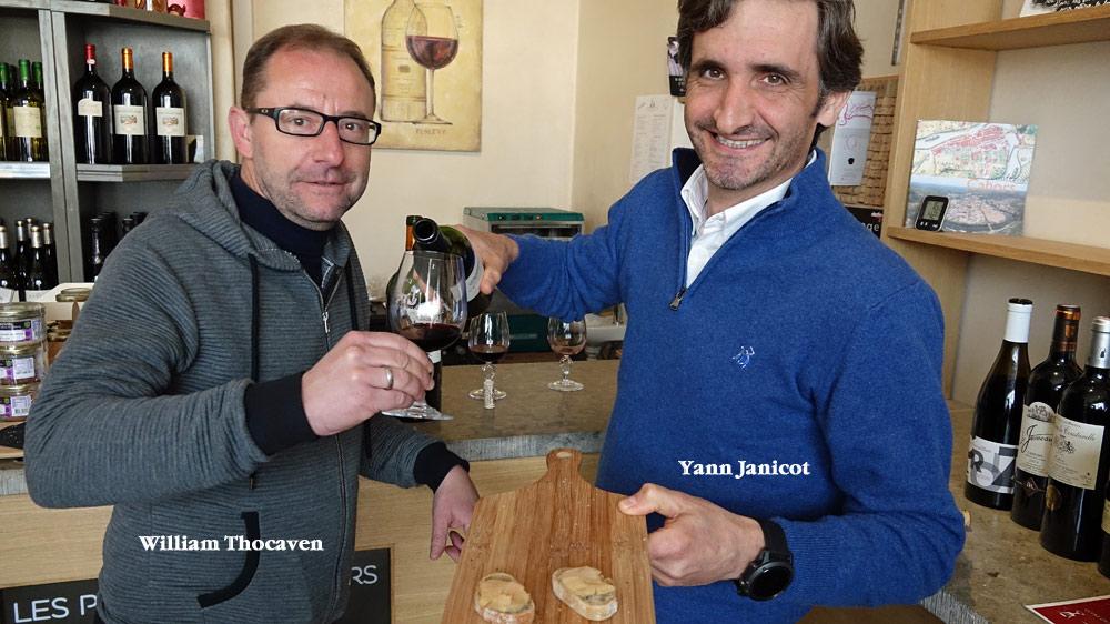 De gauche à droite : William Thocaven & Yann Janicot