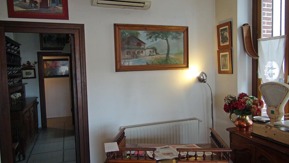 L'intérieur de la boutique