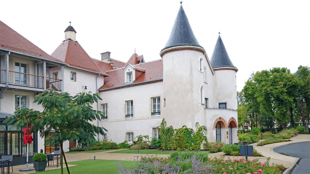 Le château après sa rénovation