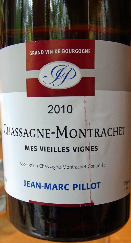 Chassagne-Montrachet 2010 JM Pilot