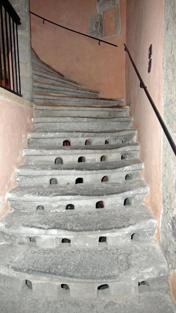Visite des Traboules : un escalier ajouré