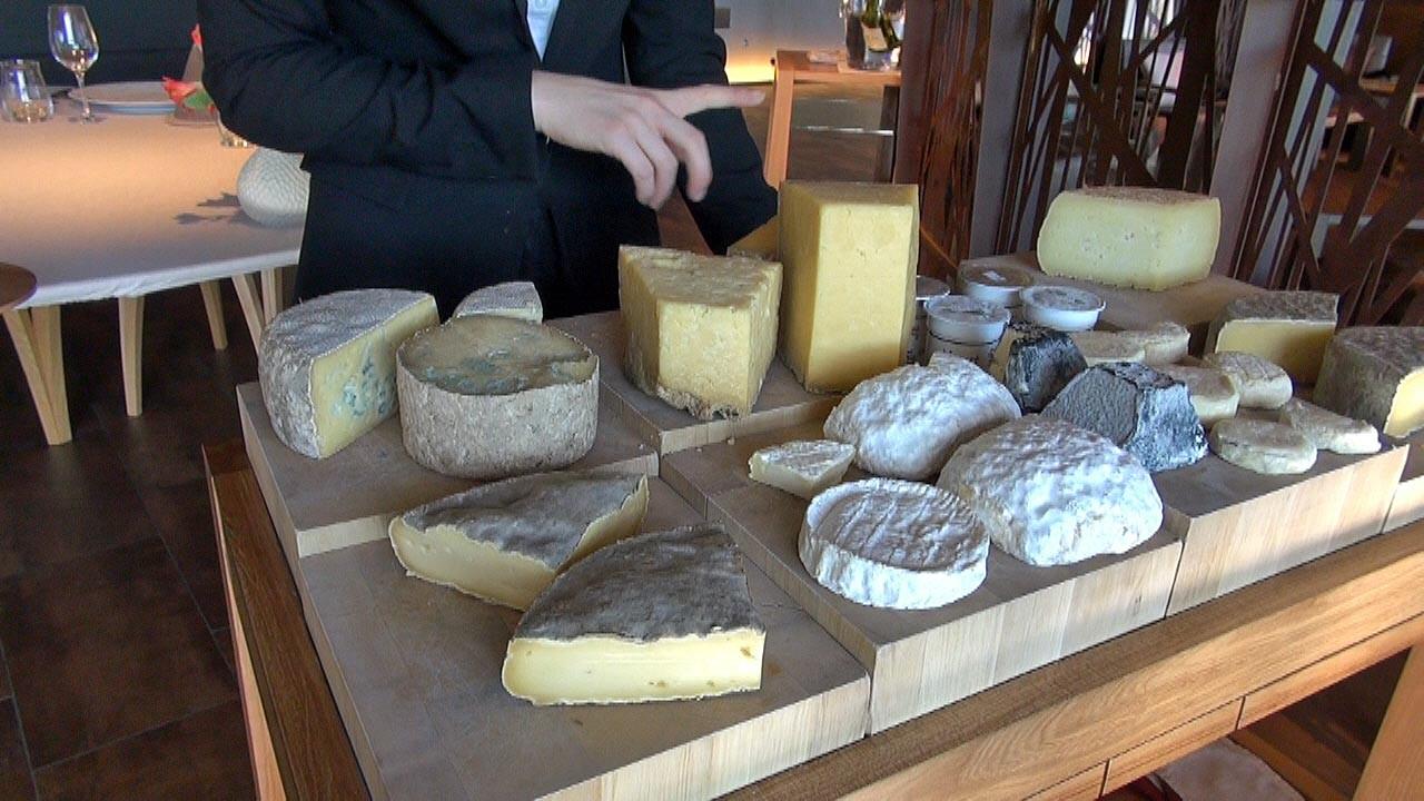 Le plateau de fromages locaux