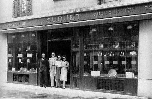 Fouquet en 1920 (rue François 1er) - Crédit photo : Fouquet